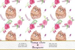 Funny Cats Seamless Patterns, Seamless backgrounds Product Image 4