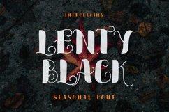 Lenty Black Font Product Image 1