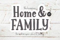 HOME & FAMILY Farmhouse Serif Font Product Image 1