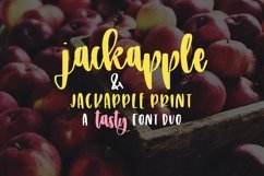 JackApple - A Tasty Font Duo Product Image 1
