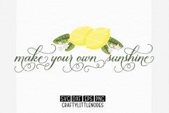 Lemons & Sunshine - Svg Bundle Product Image 4