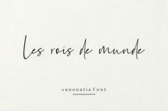 Canonatia // Handwritten Font Product Image 3