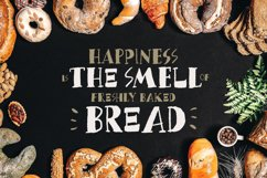 Bread Crumbs - Delicious Font Product Image 6