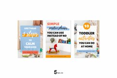 High- Converting Blogger Pinterest Pin Pack | Canva Product Image 2