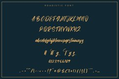 Roadistic | Script Font Product Image 3