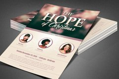 The Hope of Christmas Church Flyer Product Image 3