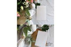 Card Mockup, Wedding Invitation Mockup, Stationary Mockup Product Image 3