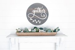 Round Sign Bundle - Round SVG Files - Farmhouse Signs Product Image 5