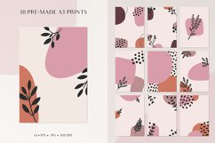 Abstract Shapes & Plants Set Product Image 5