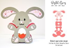 Animal Easter egg holder bundle SVG / DXF / EPS files. Product Image 4