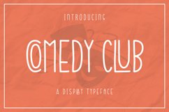 Web Font Comedy Club Product Image 1