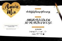 Amore Mio Brush Font Product Image 5