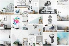 Scandinavian Interior Frames & Walls Mockup Bundle Product Image 2