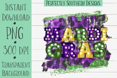 Mardi Gras Marquee - Sublimation Design Product Image 1