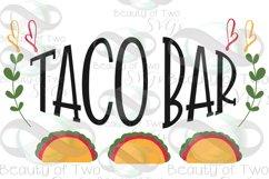 Cinco de Mayo taco bar svg & png, taco bar svg, taco svg Product Image 3