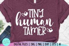 Tiny Human Tamer Svg, Chaos Coordinator Svg, Momlife Svg Product Image 3
