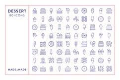 Line Icons - Dessert Product Image 5