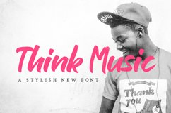 Think Music Font Product Image 1