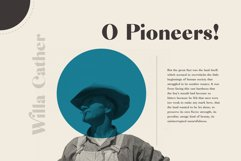Riley - A Modern Typeface Product Image 5