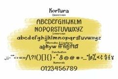 Web Font Kortura - Casual Sliced Font Product Image 4