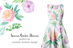 Summer Floral Seamless Patterns Product Image 6