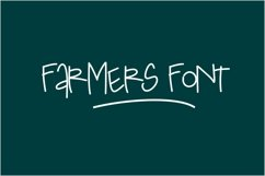 Farmers Font Product Image 1