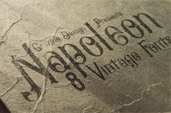 Napoleon Vintage Typeface Product Image 4