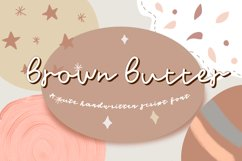 Brown Butter -Font Product Image 1