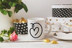 Web Font Sweet Valentine - A Monogram Font Product Image 4