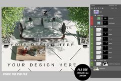 Blank Floor Outdoor PSD Mockup SM14 Product Image 4