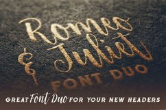 Romeo & Juliet Font Duo Product Image 3