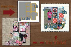 K Through 12 Number Templates for School and More Product Image 2