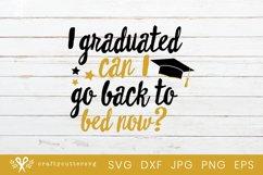 Graduate Svg Cut File| Graduation Cricut File Product Image 2