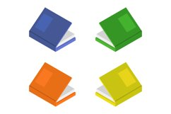 isometric book Product Image 1