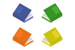 isometric book Product Image 1