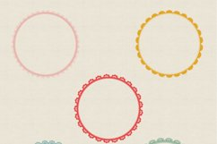 20 circle lace clipart | PNG | JPG Product Image 4