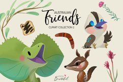 Australian Friends Clipart Collection 02 Product Image 2