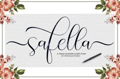 Safella - Modern Calligraphy Product Image 9