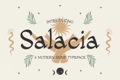 Salacia - Modern Serif Typeface Product Image 1