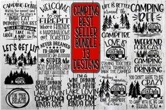 Camping Bundle - Best Sellers - 13 Designs - Vol 2 - SVG PNG Product Image 1