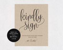 Guest book sign TOS_37 Product Image 2