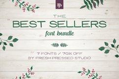 Fresh Pressed Fonts - Best Sellers Bundle Product Image 1