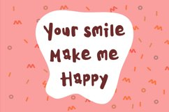 Kids Note - A Cute Display Font Product Image 2
