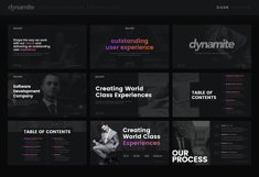 Dynamite - Creative Company Keynote Presentation Template Product Image 2