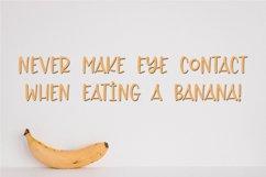Web Font Toasty Banana - A Fun Hand-Written Font Product Image 2