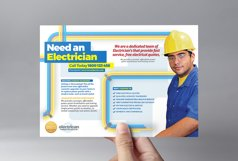 Electrician Flyer Template Product Image 2