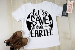 Earth Day Quotes, Let's Save Our Earth Product Image 1