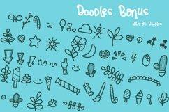 """Andalusya - """"Plus Doodle Bonus"""" // Web Font Product Image 4"""