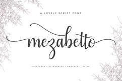 Mezabetto | Elegant Script Font Product Image 1