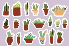 Cactus stickers BUNDLE Product Image 1
